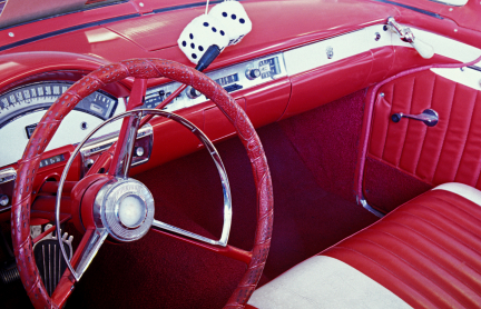 Collector Car Insurance: Interior or 50's Car