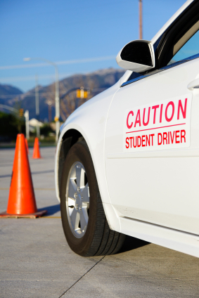 A Student Driver Vehicle