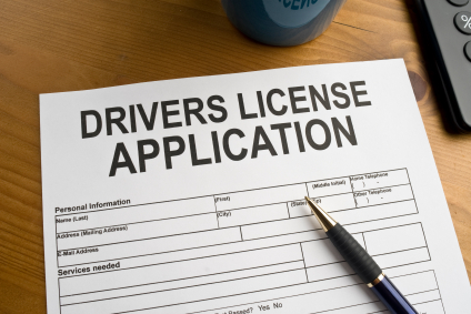 Application for a Driver's License