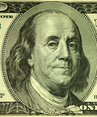 Benjamin Franklin. Your Founding Father ... of insurance!