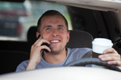 Distracted Driving from Talking on a Cell Phone