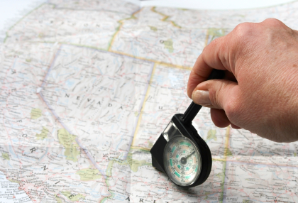 Manually Calculating Mileage on a Map