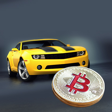 Bitcoin and Sport Car